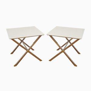 Tavolini di Alfredo Freda, Italia, anni '70, set di 2