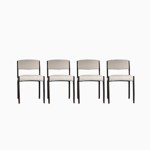 Mid-Century Rosewood Dining Chairs, Set of 4
