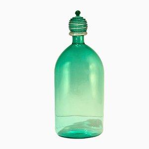 Grüne Vase aus Muranoglas von Cenedese & Albarelli für Cenedese Murano, 1990er