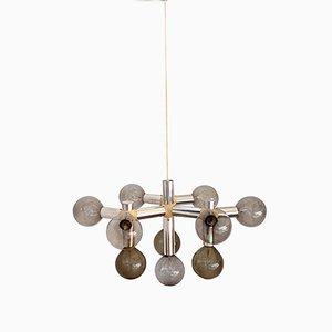 Lámpara de araña Atomic Molecular de Robert & Trix Houssmann para Swiss Lamps International, años 60