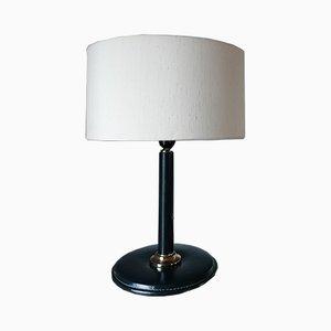 Lámpara de mesa de Jacques Adnet, años 50