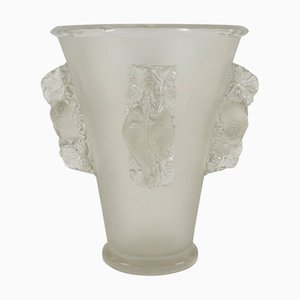 Saint Emilion Vase by Rene Lalique, 1942