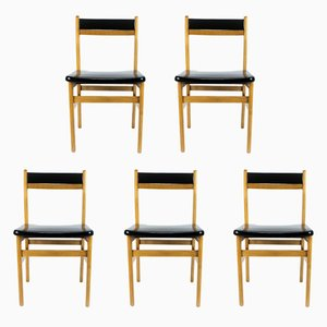 Dining Chairs from Mocholi, 1960s, Set of 5