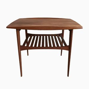 Teak Coffee Table by Edward & Tove Kindtbord-Larsen for France & Son, 1950s