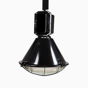 Schwarze Industrielampe von Predom Mesko, 1960er