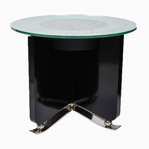 Tavolino da caffè Art Déco con luce