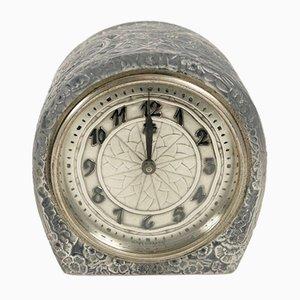 Vintage Eglantines Clock by René Lalique