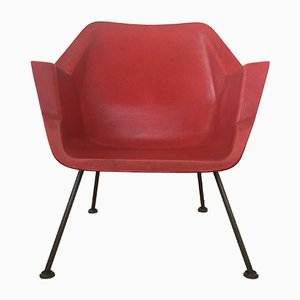 416 Fiberglass Shell Chair by Wim Rietveld & Andre Cordemeyer for Gispen, 1950s