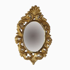 Vintage Gilt Bronze Mirror