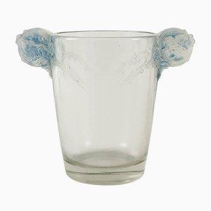 Vaso vintage in vetro di René Lalique