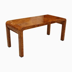 Vintage Varnished Coffee Table by Aldo Tura