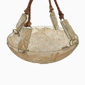 Vintage Charmes Hängelampe von Rene Lalique
