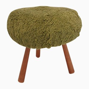 Wicker Stool by Tony Paul, 1960s