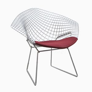 Sedia Diamond vintage di Harry Bertoia per Knoll International
