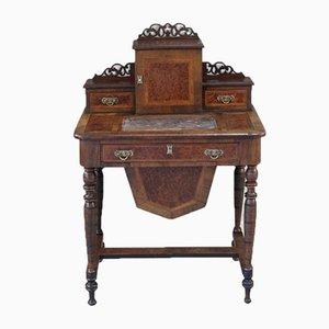 Tavolo da lavoro vittoriano antico