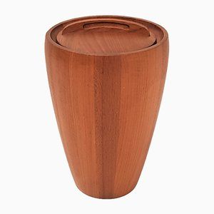 Teak Ice Bucket or Wine Cooler by Jens Harald Quistgaard for Dansk Design, 1950s