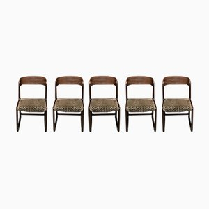 Vintage Traineau Chairs from Baumann, Set of 5