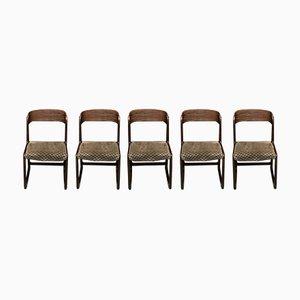 Vintage Traineau Stühle von Baumann, 5er Set