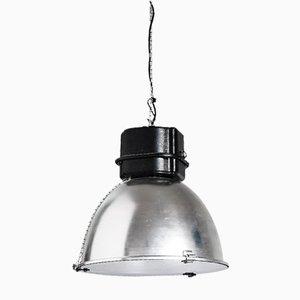 Lámpara colgante española de aluminio, años 80