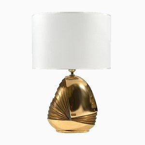 Vintage Bronze Table Lamp by Esa Fedrigolli for Esart, 1970s