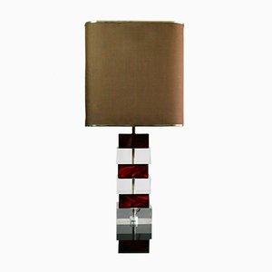 Lámpara articulada de plexiglás, años 70
