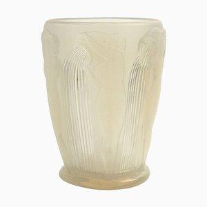 Danaides Vase aus Opalglas von René Lalique, 1926