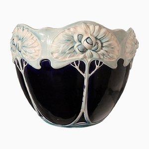 Vaso Art Nouveau in ceramica, anni '10
