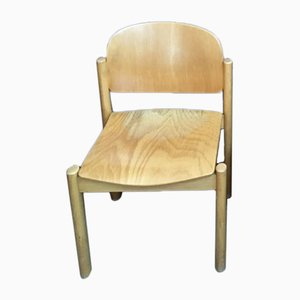 Vintage Wooden Chair, 1980s
