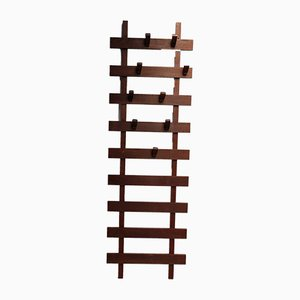 Teak Wall Coat Rack, 1950s