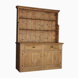 Antique Rustic Pine Dresser