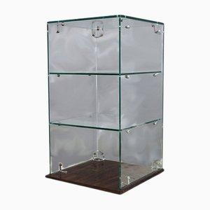 Verglaster Mid-Century Thekenschrank
