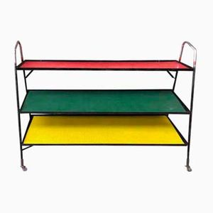 Mid-Century Multi-Colored Shelves
