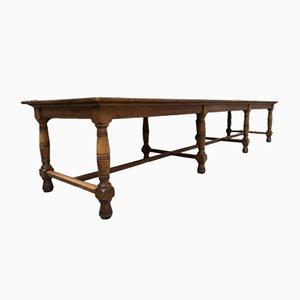 Longue Table de Salle à Manger Industrielle Vintage
