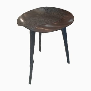Vintage Bronze Crocodile Stool