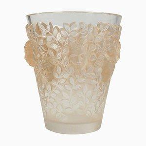 Vase Silenes par Rene Lalique, 1938