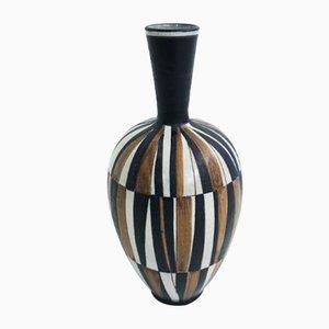 Jarrón suizo de cerámica, años 50