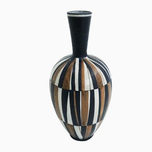 Swiss Ceramic Vase, 1950s