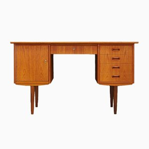Mid-Century Danish Teak Writing Desk