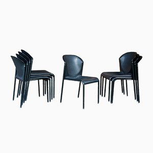Vintage Stühle von Indecom für Kembo, 1970er, 8er Set