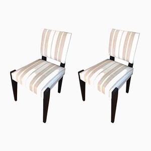 French Chairs by André Sornay, 1930s, Set of 2