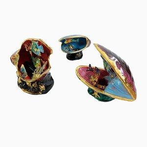 Vallauris Keramiklampen, 3er Set