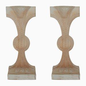 Candelabros Rameaux de René Lalique, 1934. Juego de 2