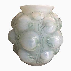 Tulipes Vase aus Opalglas von René Lalique, 1927