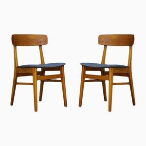Dänische Vintage Stühle aus Teak von Farstrup, 2er Set
