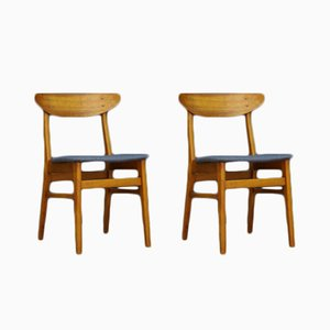 Vintage Danish Teak Chairs from Farstrup, Set of 2