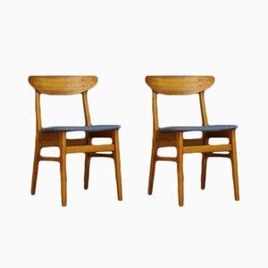 Vintage Danish Teak Chairs from Farstrup, Set of 2