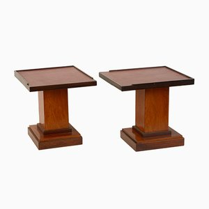 French Side Tables, 1970s, Set of 2