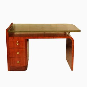 Desk by Jacques Adnet, 1930s