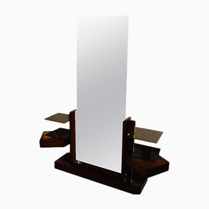 Dressing Table with Large Mirror by André Sornay, 1930s