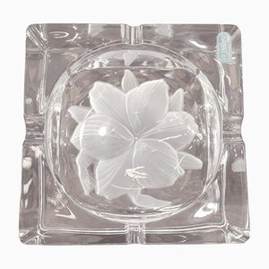 French Crystal Ashtray from Durand, 1980s